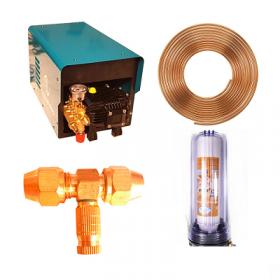 Combo máy cao áp ống đồng